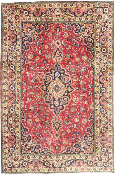 Tabriz Matto 194X290 Itämainen Käsinsolmittu Ruoste/Tummanharmaa (Villa, Persia/Iran)