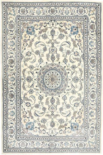 Nain Matto 198X301 Itämainen Käsinsolmittu Vaaleanharmaa/Beige (Villa, Persia/Iran)