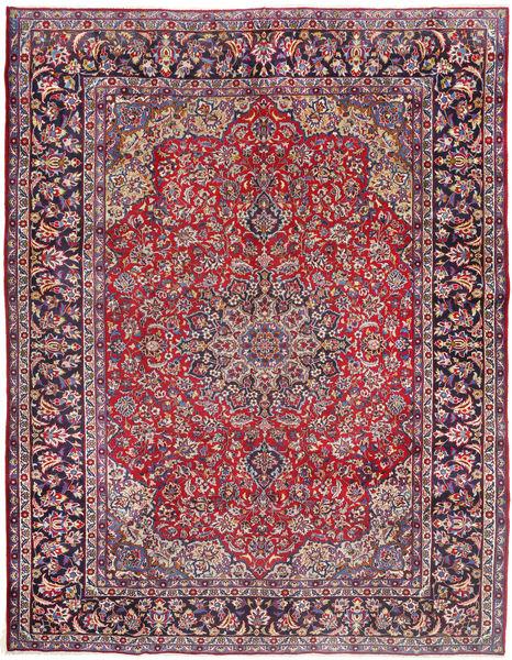 Najafabad Matto 287X380 Itämainen Käsinsolmittu Tummanvioletti/Ruoste Isot (Villa, Persia/Iran)