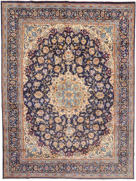 Najafabad Matto 295X398 Itämainen Käsinsolmittu Vaaleanharmaa/Tummanvioletti Isot (Villa, Persia/Iran)