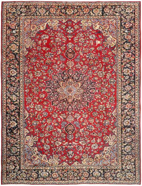 Najafabad Matto 296X390 Itämainen Käsinsolmittu Tummanpunainen/Ruoste Isot (Villa, Persia/Iran)