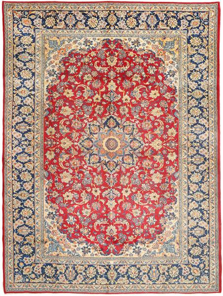 Najafabad Matto 299X406 Itämainen Käsinsolmittu Tummanbeige/Ruoste Isot (Villa, Persia/Iran)