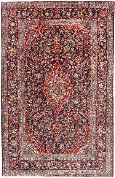 Keshan Matto 210X330 Itämainen Käsinsolmittu Tummanpunainen/Tummanvioletti (Villa, Persia/Iran)