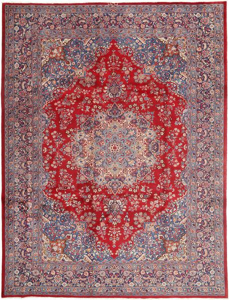 Keshan Matto 250X343 Itämainen Käsinsolmittu Vaaleanharmaa/Punainen Isot (Villa, Persia/Iran)