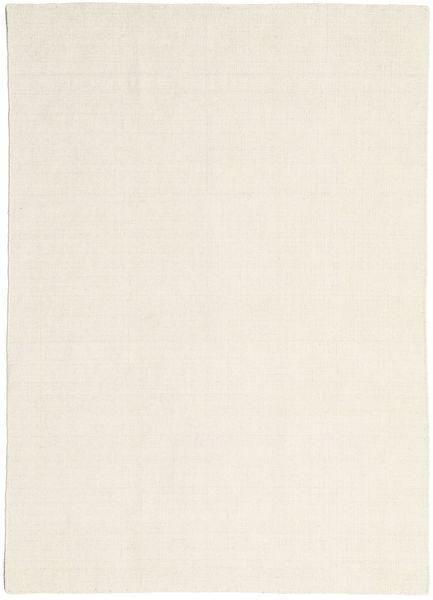 Kelim Loom - Natural Matto 160X230 Moderni Käsinkudottu Tummanbeige/Beige (Villa, Intia)
