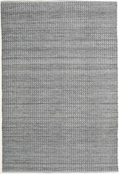 Alva - Harmaa/Musta Matto 200X300 Moderni Käsinkudottu Vaaleanharmaa/Vaaleanvihreä (Villa, Intia)
