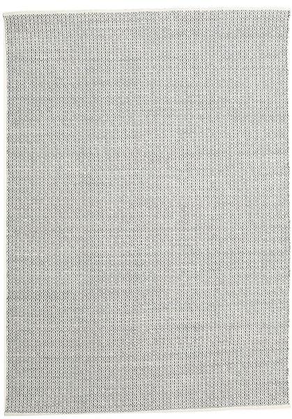 Alva - Valkoinen/Musta Matto 250X350 Moderni Käsinkudottu Vaaleanharmaa/Beige Isot (Villa, Intia)
