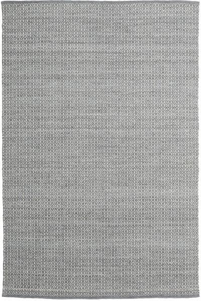 Alva - Tummanharmaa/Valkoinen Matto 200X300 Moderni Käsinkudottu Vaaleanharmaa/Tummanharmaa (Villa, Intia)