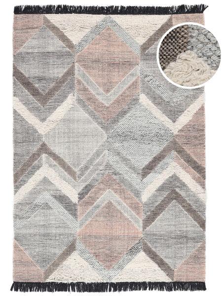 Silvana Matto 160X230 Moderni Käsinkudottu Vaaleanharmaa (Villa, Intia)