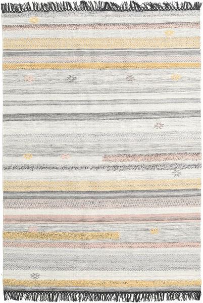Ragna Matto 160X230 Moderni Käsinkudottu Vaaleanharmaa/Beige (Villa, Intia)