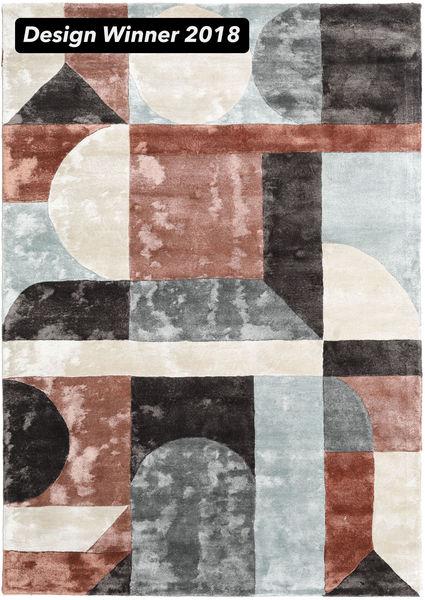 Dovetail - 2018 Matto 160X230 Moderni Beige/Musta ( Intia)