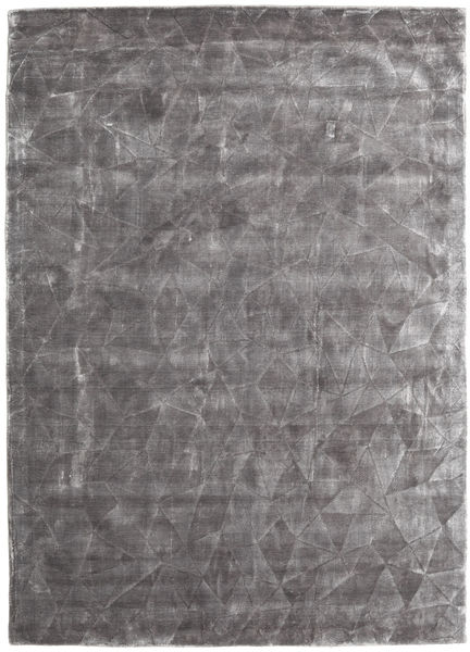 Crystal - Soft Grey Matto 140X200 Moderni Vaaleanharmaa/Tummanruskea ( Intia)