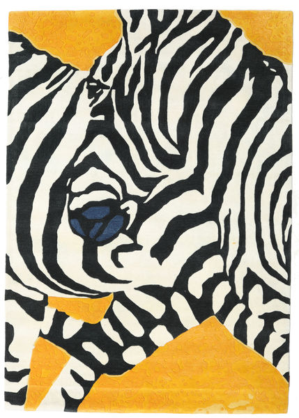 Zebra - 2018 Matto 160X230 Moderni Beige/Musta (Villa, Intia)