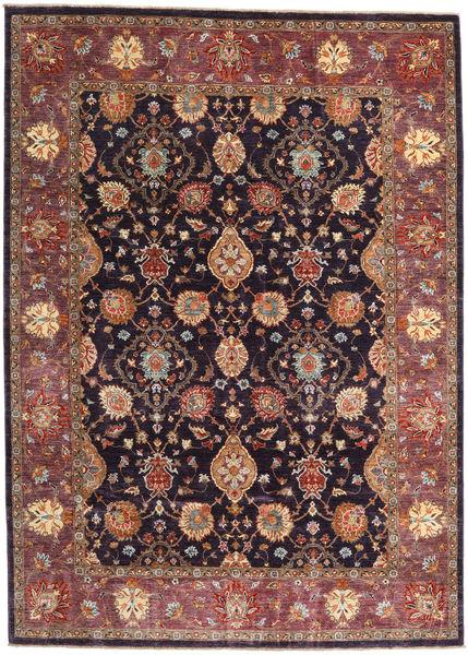 Ziegler Ariana Matto 203X282 Itämainen Käsinsolmittu Tummanpunainen/Tummansininen (Villa, Afganistan)