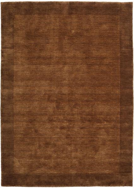 Handloom Frame - Ruskea Matto 160X230 Moderni Ruskea/Tummanruskea (Villa, Intia)