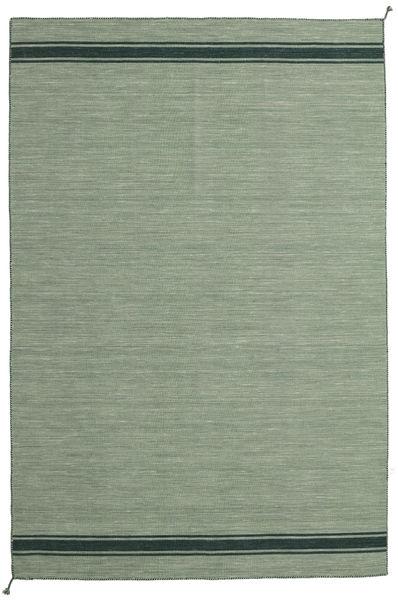Ernst - Vihreä/Tumma _Green Matto 200X300 Moderni Käsinkudottu Oliivinvihreä/Vaaleanvihreä/Pastellinvihreä (Villa, Intia)
