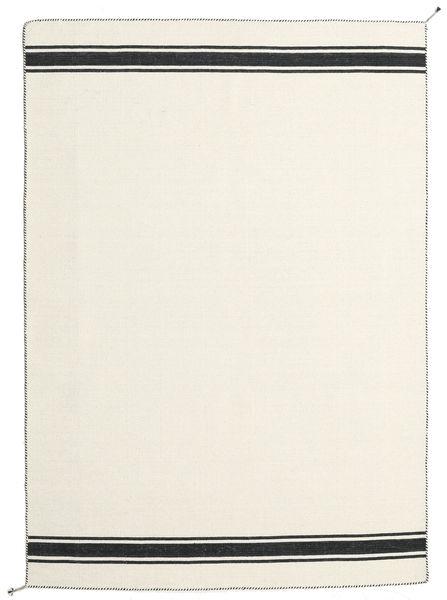 Ernst - Valkea/Musta Matto 170X240 Moderni Käsinkudottu Beige (Villa, Intia)