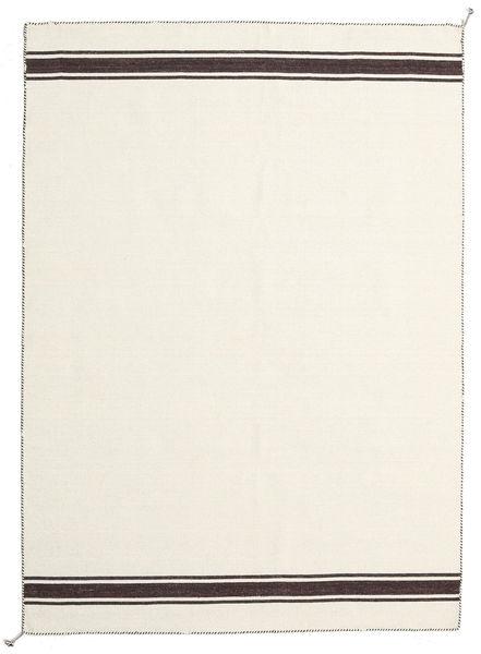 Ernst - Valkea/Ruskea Matto 170X240 Moderni Käsinkudottu Beige (Villa, Intia)