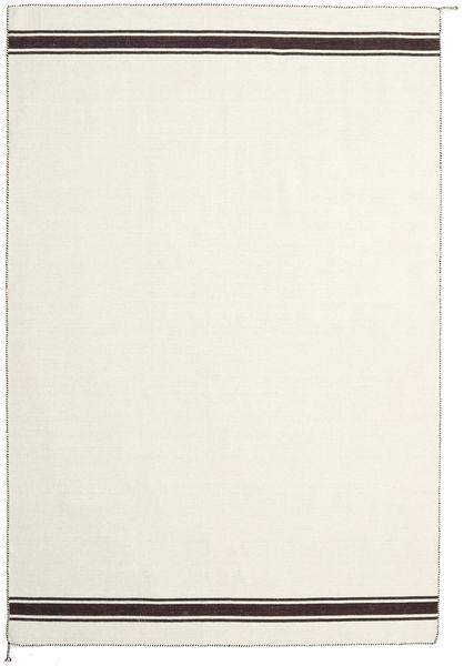 Ernst - Valkea/Ruskea Matto 200X300 Moderni Käsinkudottu Beige/Tummanbeige (Villa, Intia)