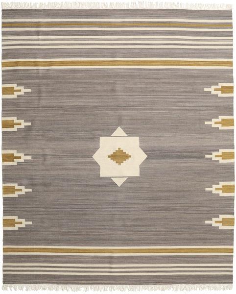 Tribal - Harmaa Matto 250X300 Moderni Käsinkudottu Vaaleanharmaa/Beige Isot (Villa, Intia)
