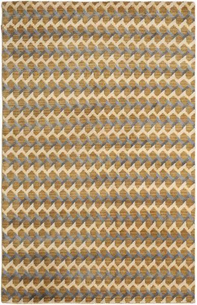 Sandnes Matto 180X270 Moderni Käsinsolmittu Vaaleanruskea/Beige (Villa, Intia)