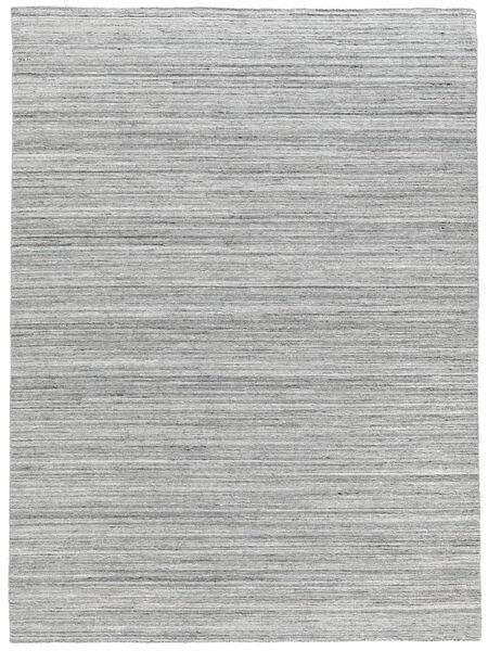 Ulkomatto Petra - Light_Mix Matto 160X230 Moderni Käsinkudottu Vaaleanharmaa/Valkoinen/Creme ( Intia)