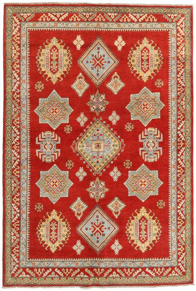 Kazak Matto 166X247 Itämainen Käsinsolmittu Ruoste/Tummanbeige (Villa, Afganistan)