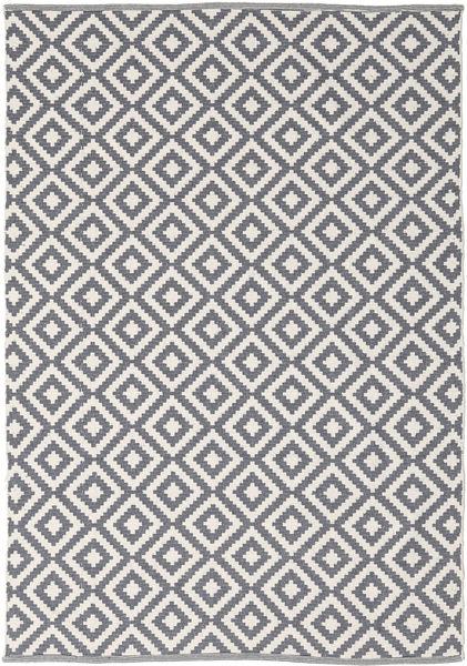 Torun - Harmaa/Neutral Matto 140X200 Moderni Käsinkudottu Vaaleanharmaa/Vaaleanvioletti (Puuvilla, Intia)