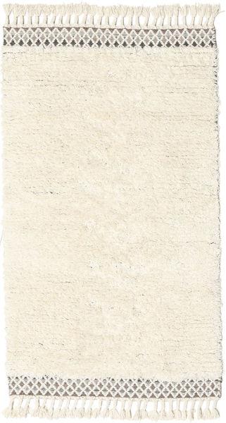 Dixon Matto 100X180 Moderni Käsinkudottu Beige/Valkoinen/Creme (Villa, Intia)