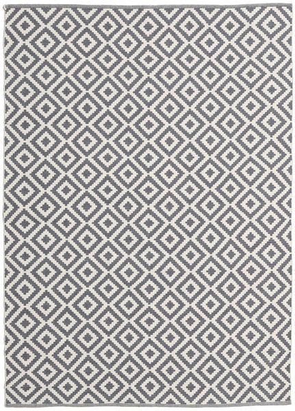 Torun - Harmaa/Neutral Matto 170X240 Moderni Käsinkudottu Vaaleanvioletti/Vaaleanharmaa (Puuvilla, Intia)