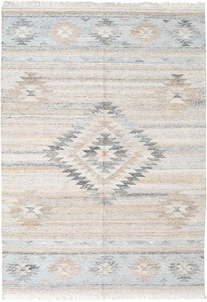 Ulkomatto Tulum Matto 160X230 Moderni Käsinkudottu Vaaleanharmaa ( Intia)