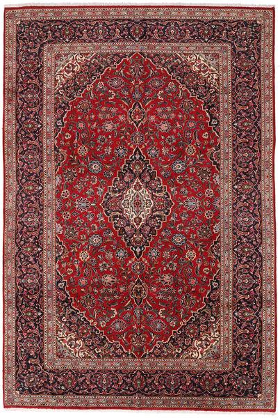 Keshan Matto 260X380 Itämainen Käsinsolmittu Tummanpunainen/Tummanruskea Isot (Villa, Persia/Iran)