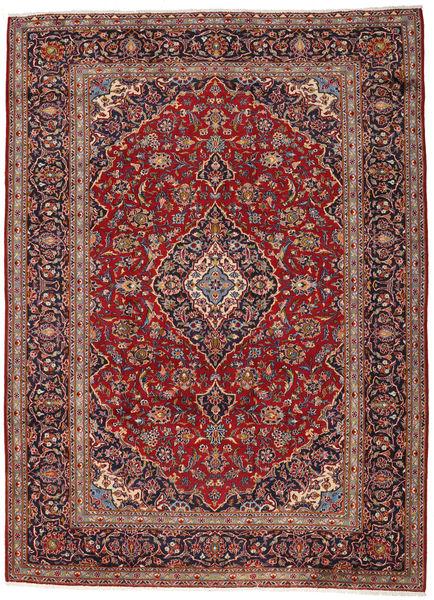 Keshan Matto 263X360 Itämainen Käsinsolmittu Tummanpunainen/Tummanruskea Isot (Villa, Persia/Iran)