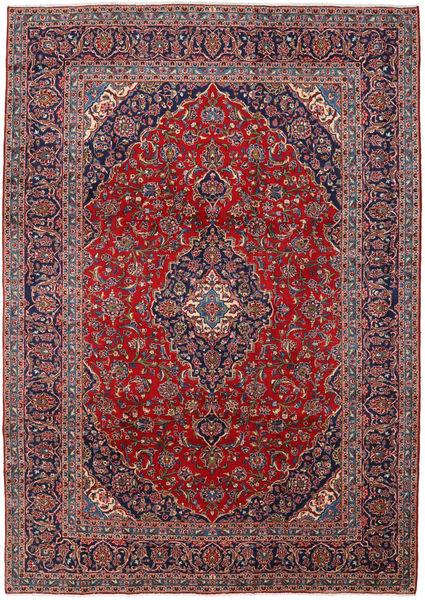 Keshan Matto 250X350 Itämainen Käsinsolmittu Tummanvioletti/Tummanpunainen Isot (Villa, Persia/Iran)