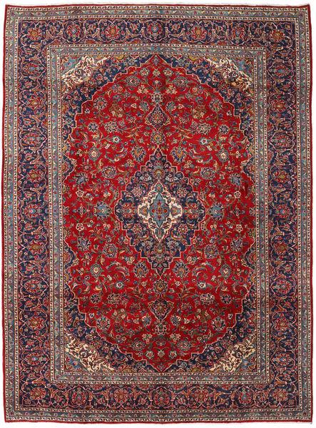 Keshan Matto 295X397 Itämainen Käsinsolmittu Tummanpunainen/Tummanruskea Isot (Villa, Persia/Iran)
