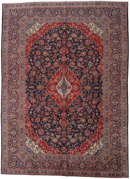 Keshan Matto 290X403 Itämainen Käsinsolmittu Tummanruskea/Tummanpunainen Isot (Villa, Persia/Iran)