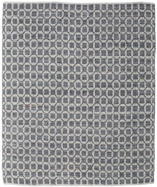 Elna - Harmaa Matto 250X300 Moderni Käsinkudottu Vaaleanharmaa/Tummanharmaa Isot (Puuvilla, Intia)