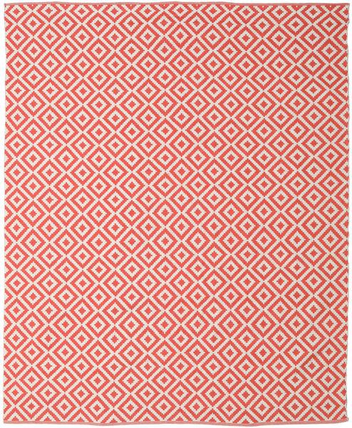 Torun - Coral/Neutral Matto 250X300 Moderni Käsinkudottu Vaaleanpunainen/Punainen Isot (Puuvilla, Intia)