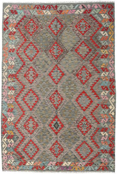 Kelim Afghan Old Style Matto 169X251 Itämainen Käsinkudottu Vaaleanharmaa/Tummanharmaa (Villa, Afganistan)