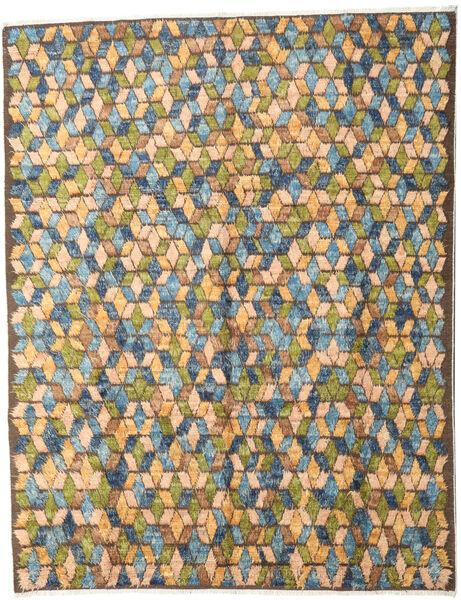 Barchi/Moroccan Berber - Afganistan Matto 247X313 Moderni Käsinsolmittu Tummanharmaa/Vaaleanruskea (Villa, Afganistan)