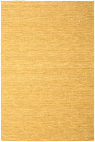 Kelim Loom - Keltainen Matto 250X350 Moderni Käsinkudottu Vaaleanruskea/Tummanbeige Isot (Villa, Intia)