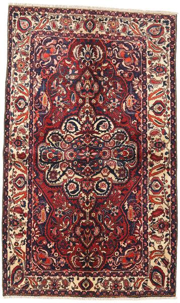 Bakhtiar Matto 145X240 Itämainen Käsinsolmittu Tummanpunainen/Tummansininen (Villa, Persia/Iran)