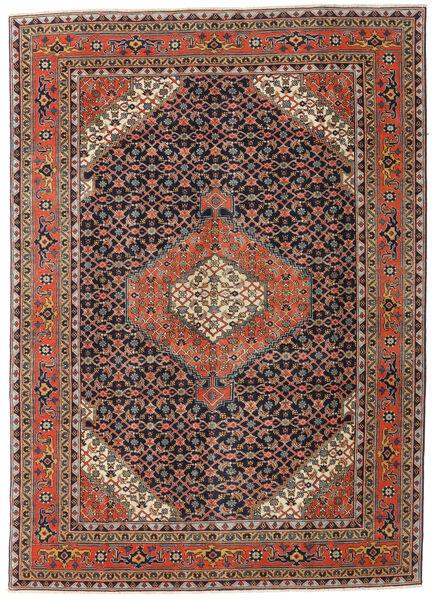 Ardebil Patina Matto 208X290 Itämainen Käsinsolmittu Tummanharmaa/Tummanpunainen (Villa, Persia/Iran)