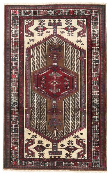 Sarab Matto 95X154 Itämainen Käsinsolmittu Tummanruskea/Beige (Villa, Persia/Iran)