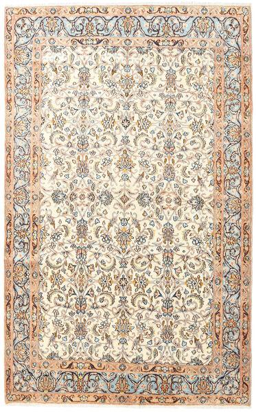 Kerman Matto 145X240 Itämainen Käsinsolmittu Beige/Valkoinen/Creme (Villa, Persia/Iran)