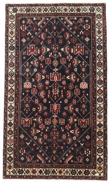 Saveh Matto 120X200 Itämainen Käsinsolmittu Tummansininen/Tummanruskea (Villa, Persia/Iran)