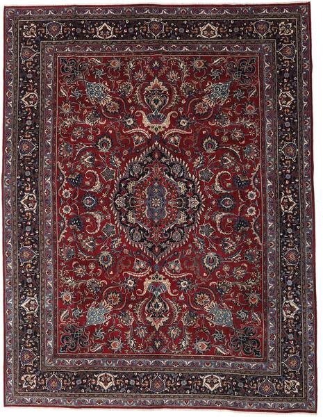 Mashad Patina Matto 304X398 Itämainen Käsinsolmittu Tummanpunainen/Tummanharmaa Isot (Villa, Persia/Iran)