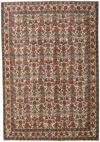 Ardebil Patina Matto 273X395 Itämainen Käsinsolmittu Tummanharmaa/Vaaleanruskea Isot (Villa, Persia/Iran)