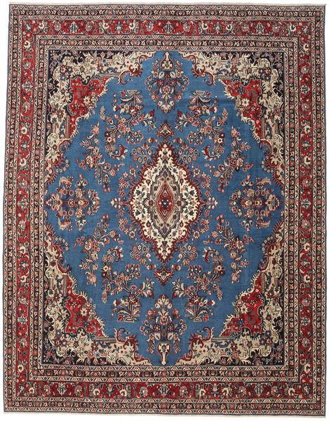 Hamadan Patina Matto 320X410 Itämainen Käsinsolmittu Sininen/Tummanpunainen/Musta Isot (Villa, Persia/Iran)