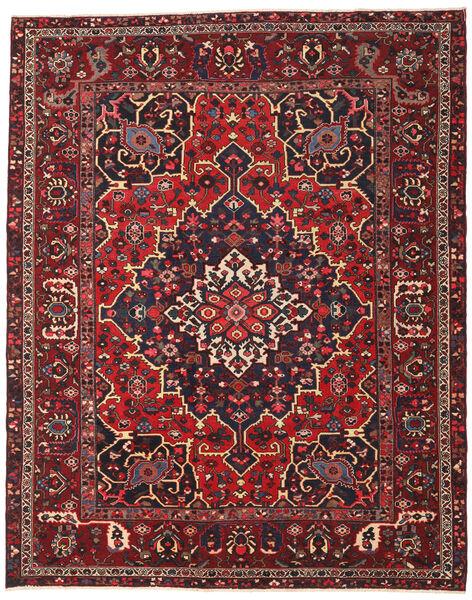 Bakhtiar Patina Matto 298X373 Itämainen Käsinsolmittu Tummanpunainen/Musta Isot (Villa, Persia/Iran)